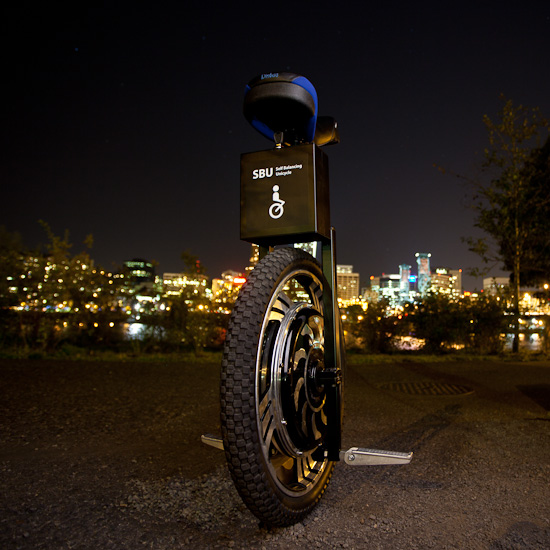 SBU V2.0 at Portland Waterfront at Night